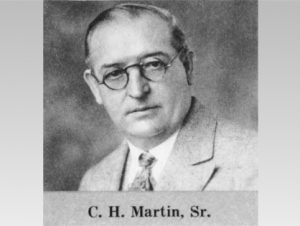 Christian Hubert Martin Sr. Founder of C. H. Martin Company Atlanta, GA