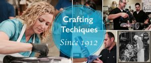 Orthotic and Prosthetic technicians working in fabrication lab at C H Martin Company